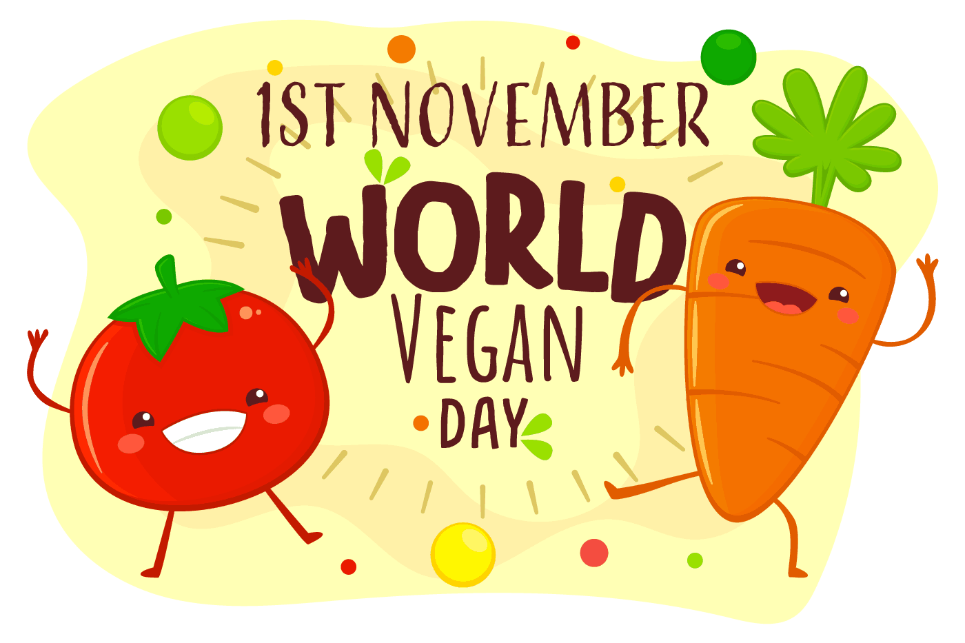 1st november world vegan day