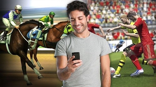 betting on a mobile phone - Virtual Sports Betting Guide